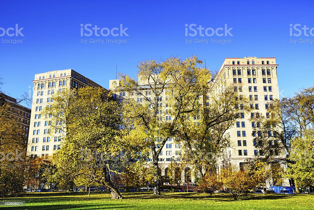 Shoreland Hotel,  Chicago royalty-free stock photo