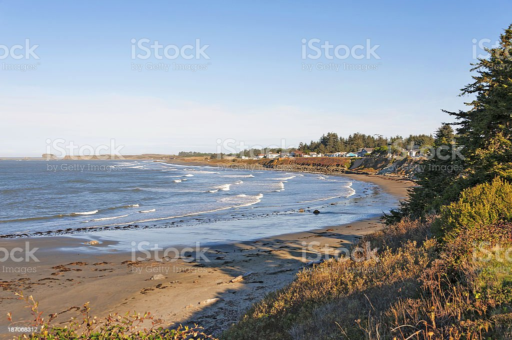 Shoreline Drive Crescent City California royalty-free stock photo