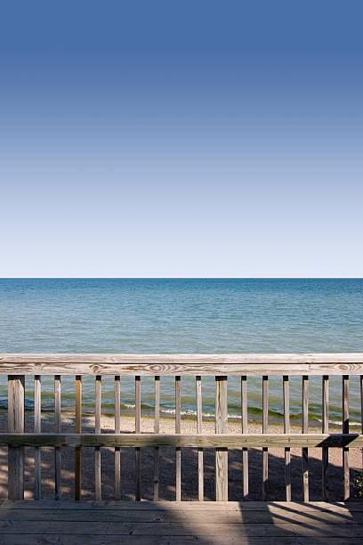 shoreline stock photo