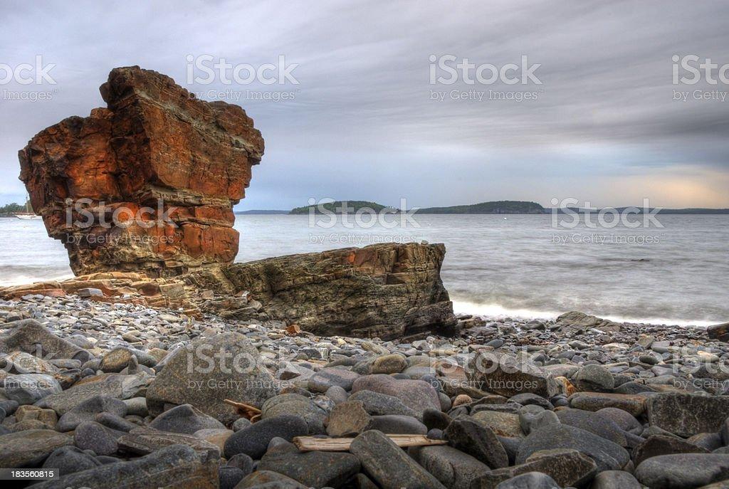 Shoreline Sentinel royalty-free stock photo