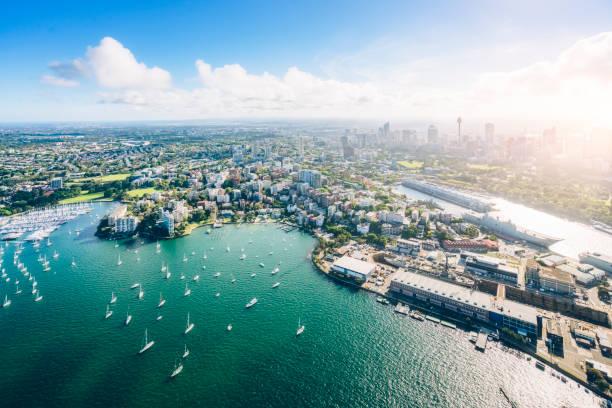 Shoreline,Aerial,Sydney – Foto