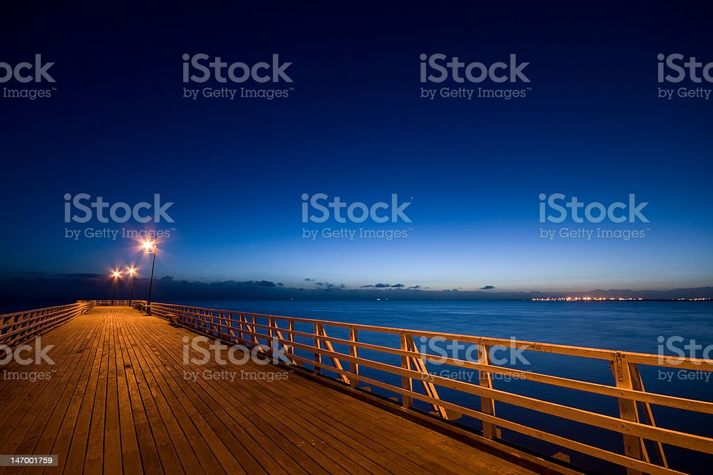 Shorncliffe Pier royalty-free stock photo