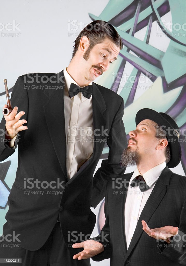 Short and Tall royalty-free stock photo