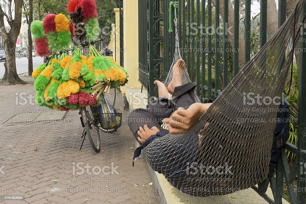 Short break sleep at noon time royalty-free stock photo