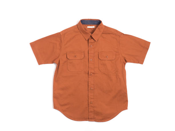 shirt met korte mouwen voor kinderen - korte mouwen stockfoto's en -beelden