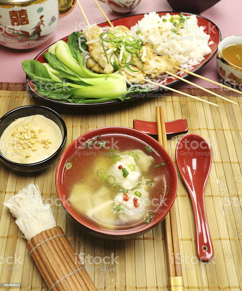 Short Soup royalty-free stock photo