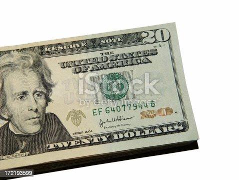 $20 bills.