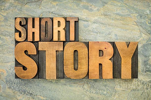 kurze geschichte in holz-art - kurzgeschichten stock-fotos und bilder