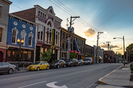 Short Street Lexington Stock Photo - Download Image Now