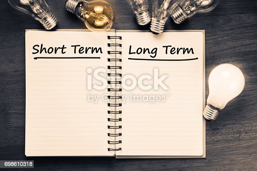 istock Short term and Long term 698610318