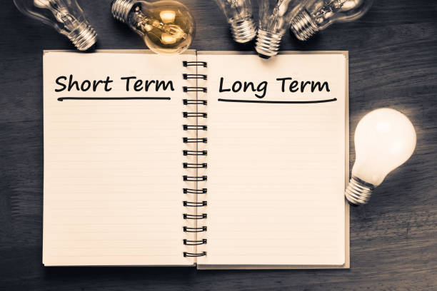 short term and long term - long stock pictures, royalty-free photos & images