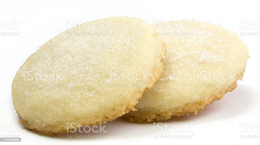 Shortbread Cookies royalty-free stock photo