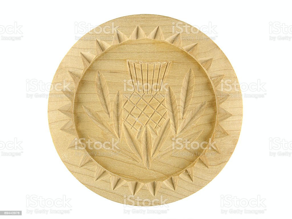 Shortbread mould royalty-free stock photo
