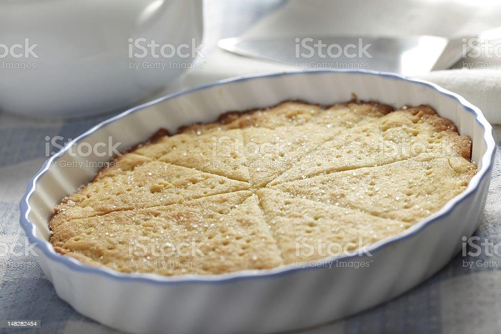 Shortbread royalty-free stock photo