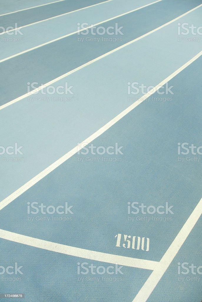 Short-distance running royalty-free stock photo