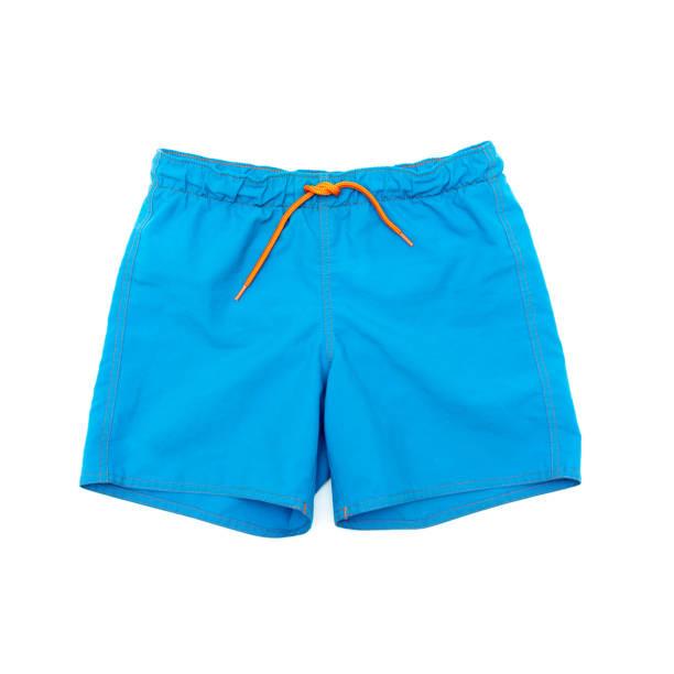Shorts für Schwimmen auf einem weißen Hintergrund isoliert – Foto