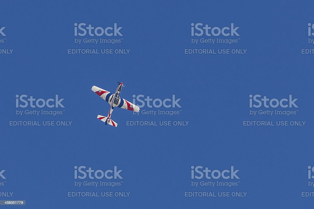 Shorts Tucano T1 ZF269 Queen's Jubilee royalty-free stock photo