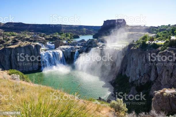 Photo of Shoshone falls in the morning, Twin Falls, Idaho