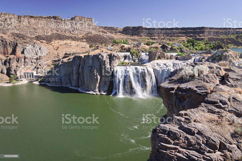 Shoshone Falls royalty-free stock photo