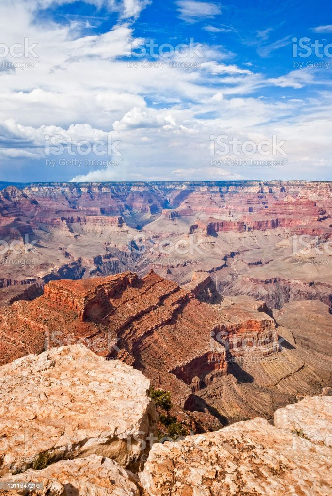 Grand Canyon from Shoshone Point stock photo