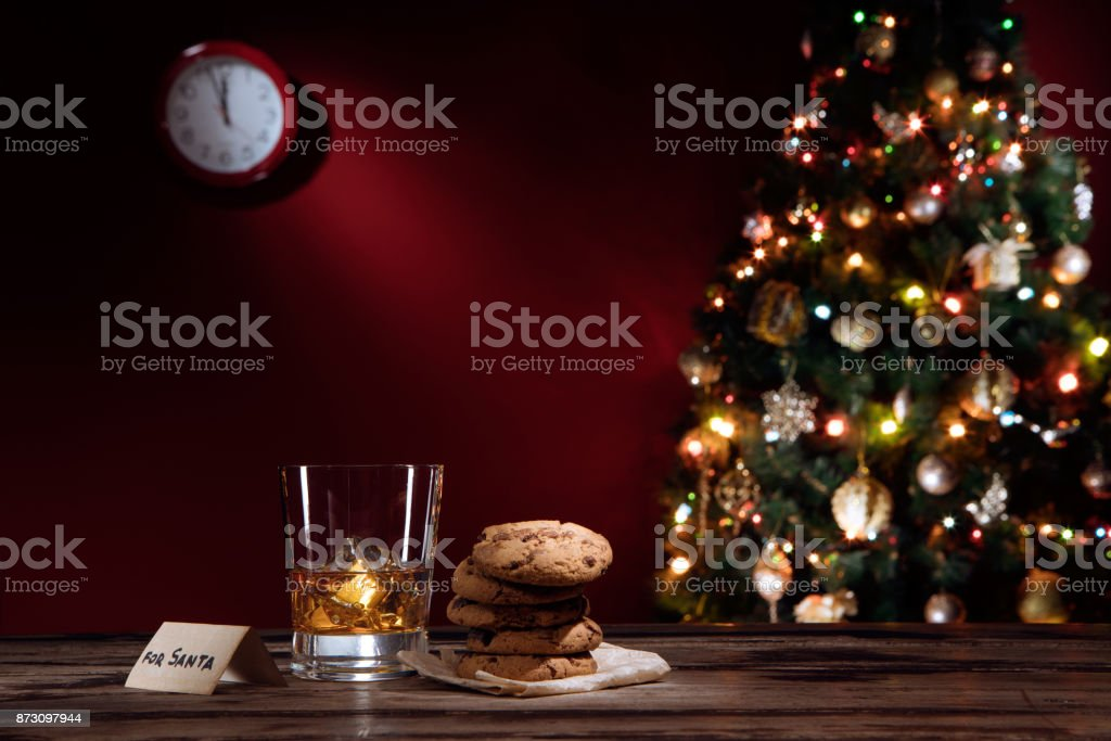 shot for santa stock photo