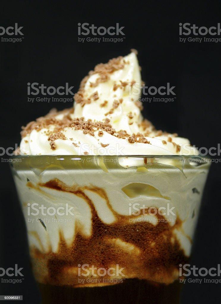 Shot Glass Coffee 2 royalty-free stock photo