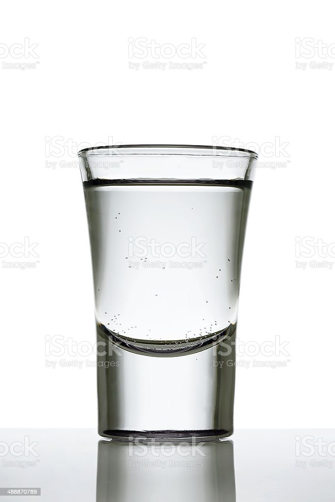 shot glass stock photo