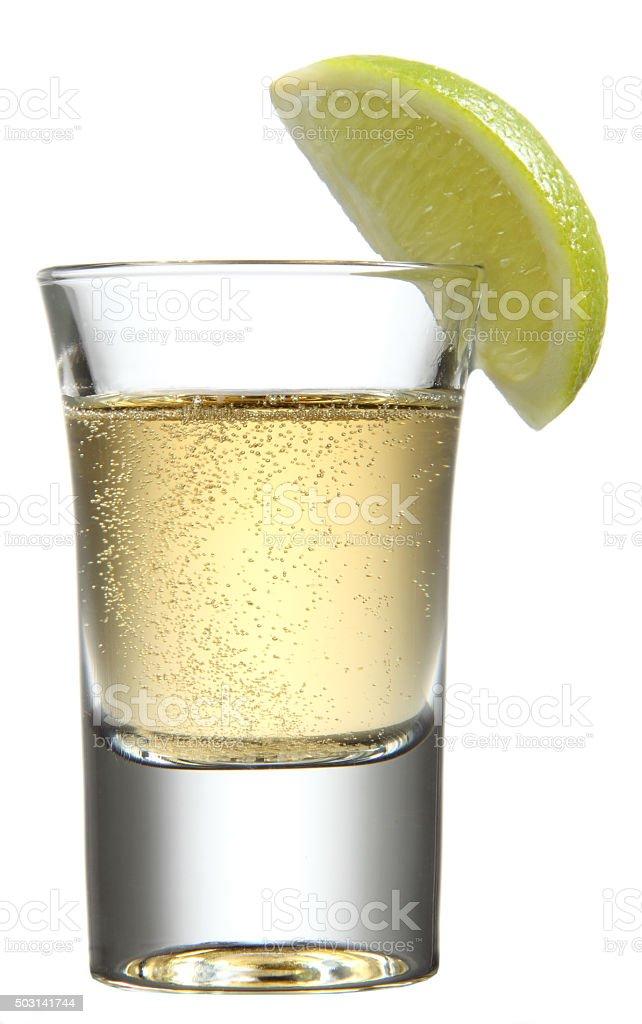 Shot Glass stock photo