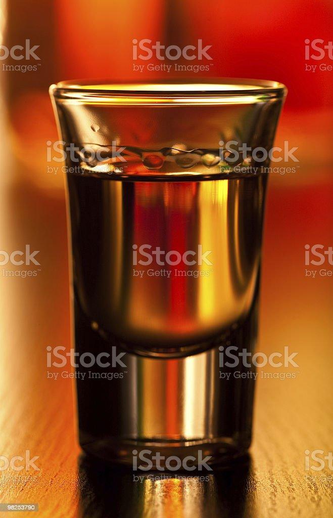 Shot glass royalty-free stock photo