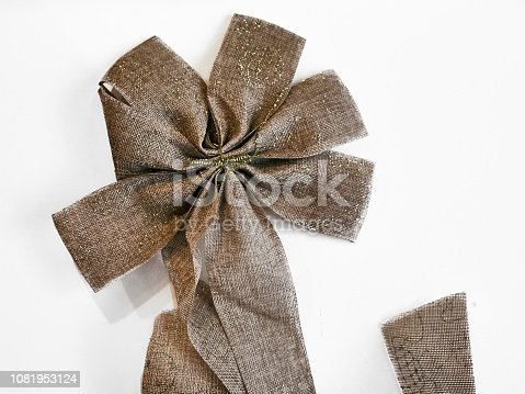 858960516istockphoto Shot of a beautiful star shape bow 1081953124