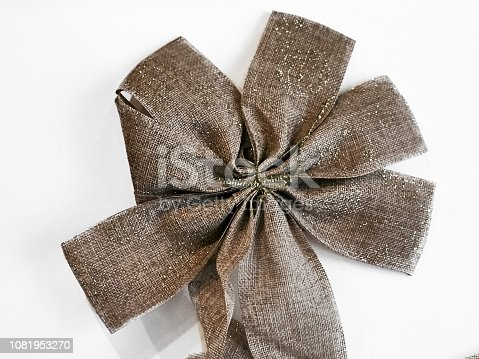 858960516istockphoto Shot of a beautiful star shape bow 1081953270