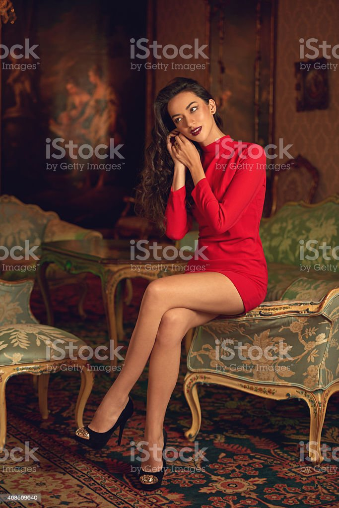 Beauty and riches stock photo