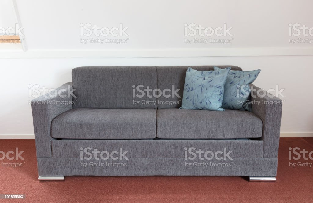 Shot of a modern couch stock photo
