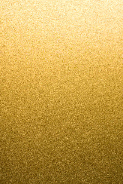shot of abstract golden background. - foil stock photos and pictures