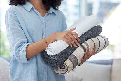 Folding laundry correctly is an art