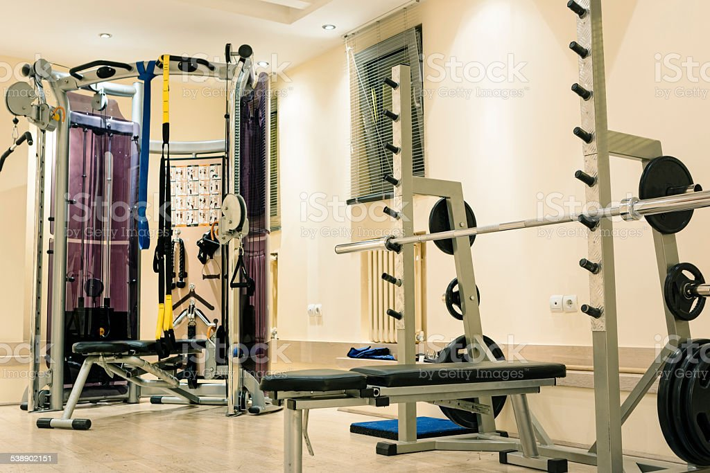 Shot of an empty gym. Canon 5D