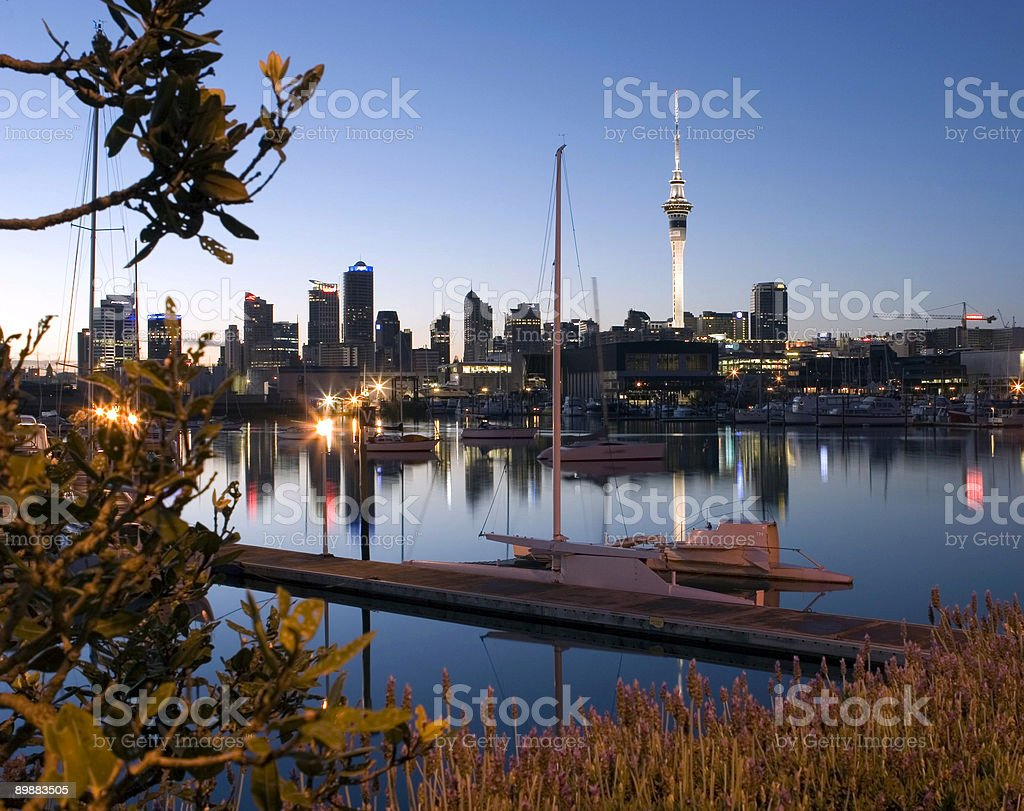 Окленд City Стоковые фото Стоковая фотография