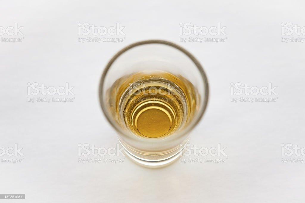 shot of liquor royalty-free stock photo