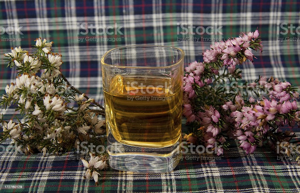 Shot of Scotch - Royalty-free Alcohol - Drink Stock Photo