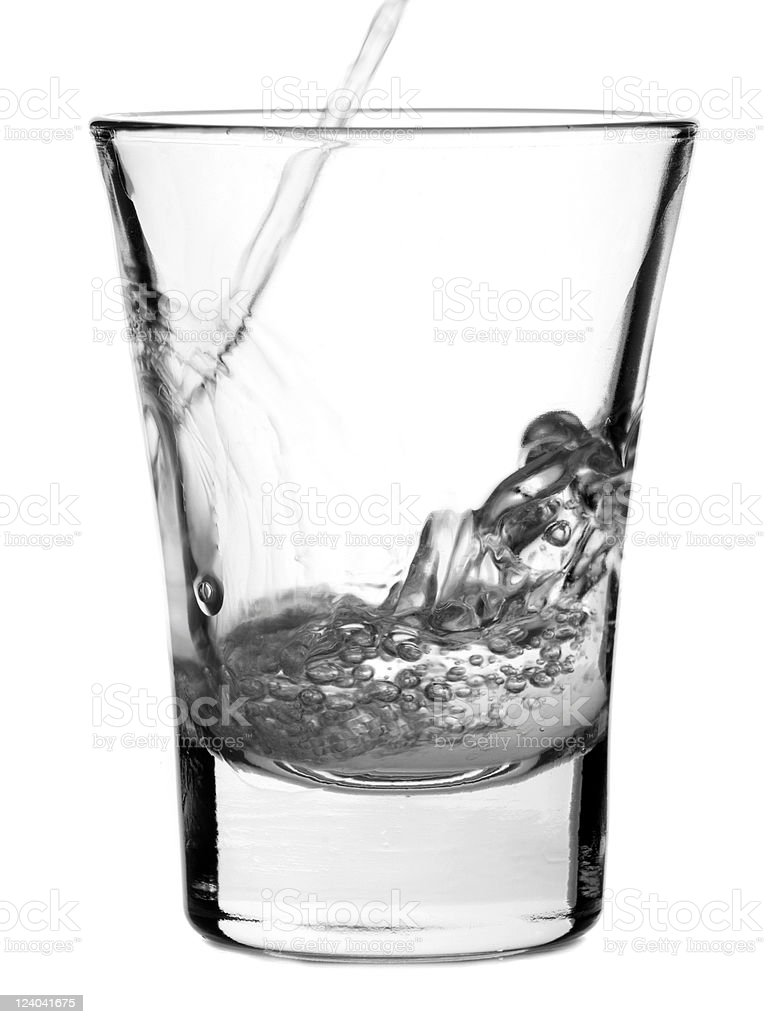 Shot of vodka royalty-free stock photo