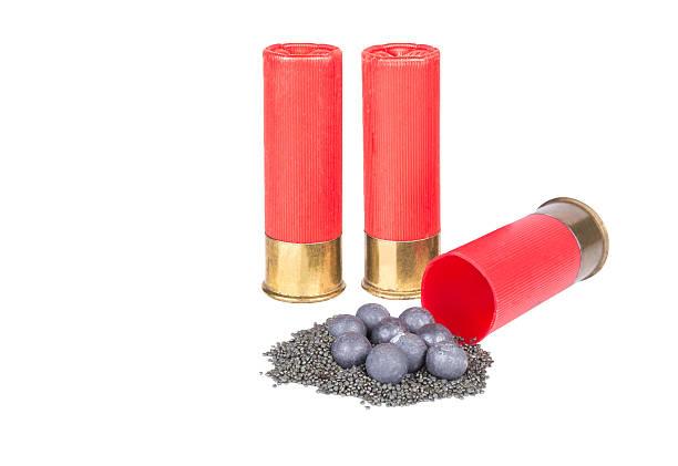 Shotgun  cartridge stock photo