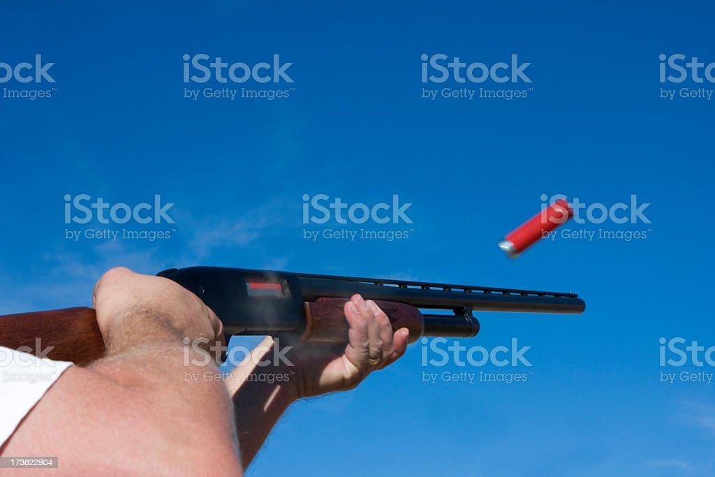 shotgun royalty-free stock photo
