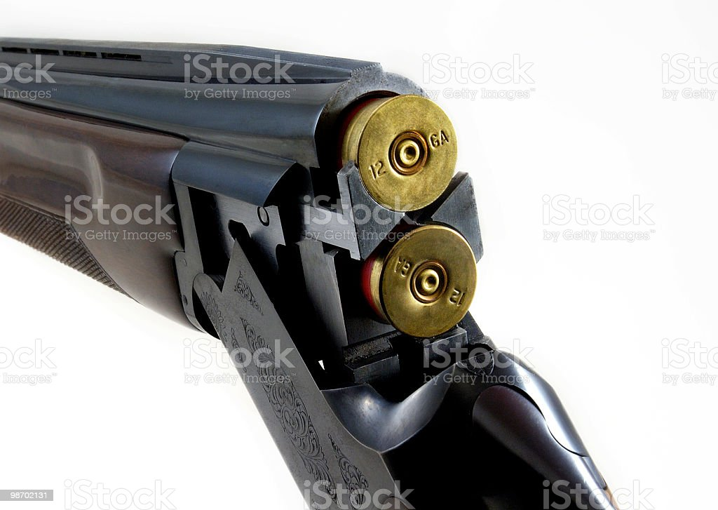 Shotgun royalty-free stock photo