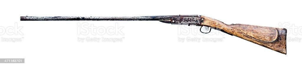 shotgun XXXL royalty-free stock photo