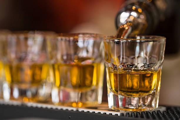 Photos des boissons dans un night-club - Photo