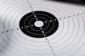 shots, shields and cartridges - shooting position on the sport shooting range