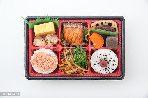 istock shoukadou style japanese traditional bento 861442470