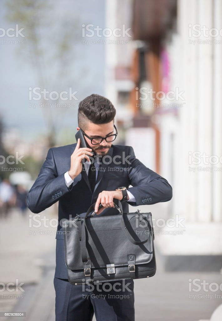 I should be there in time royalty-free stock photo
