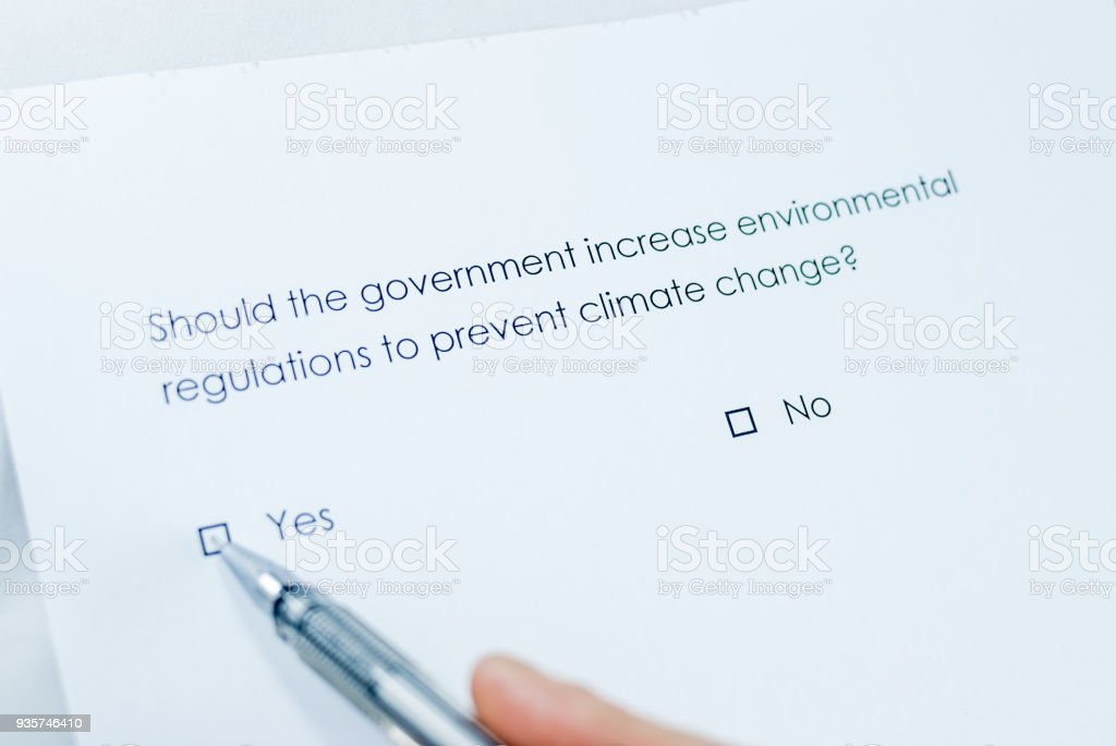 Should the government increase environmental regulations to prevent...