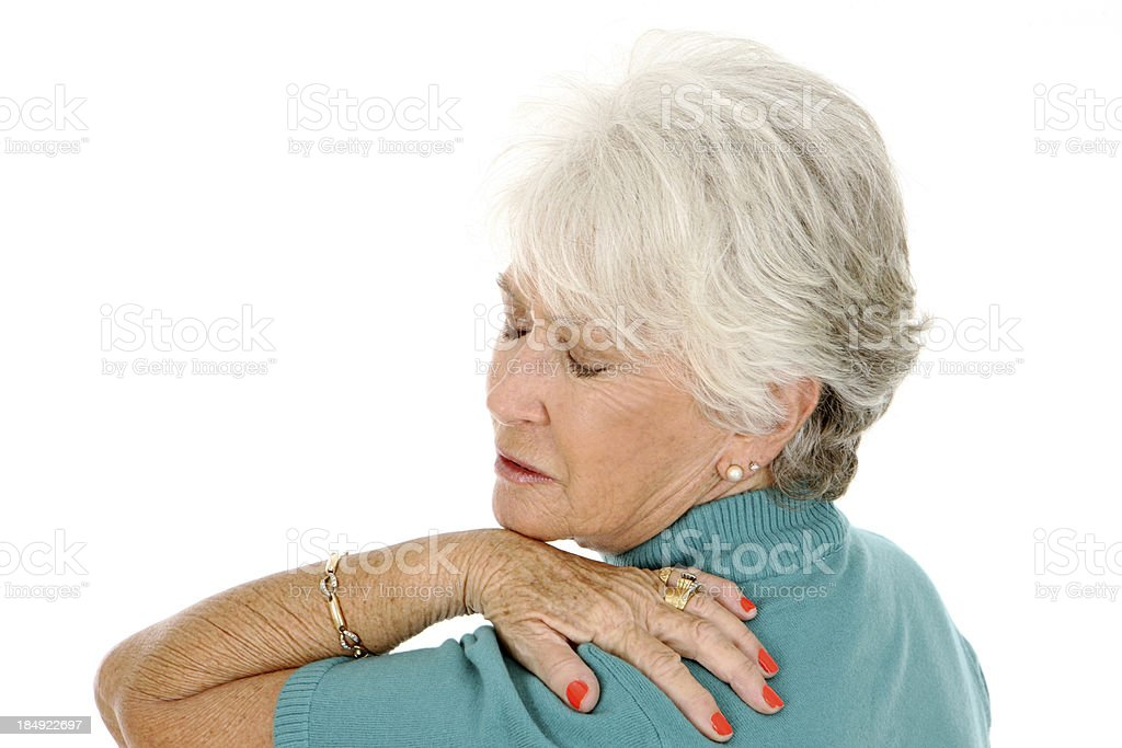 Shoulder Ache royalty-free stock photo